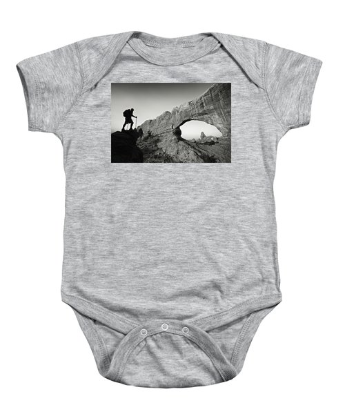 North Window Arch Baby Onesie