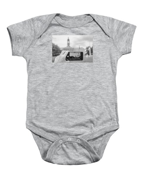 Old Main Penn State  Baby Onesie by John McGraw