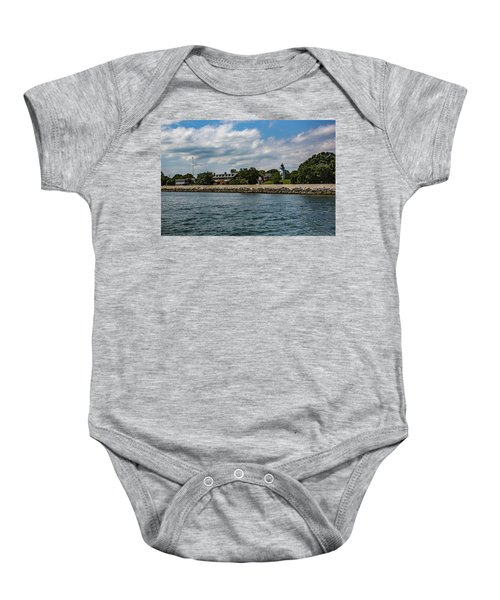Old Point Comfort Light Baby Onesie