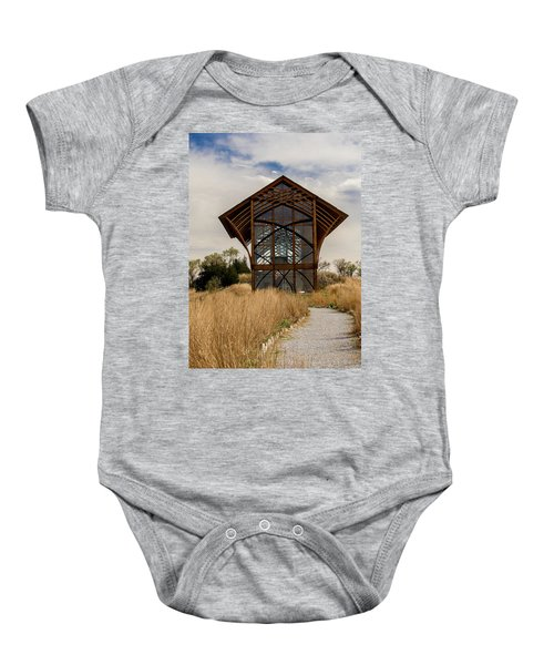 Omaha Holy Family Shrine 2 Baby Onesie