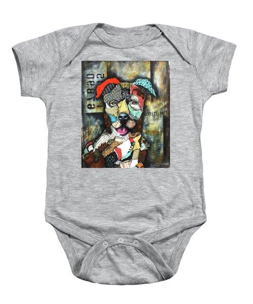 Pit Bull Baby Onesie