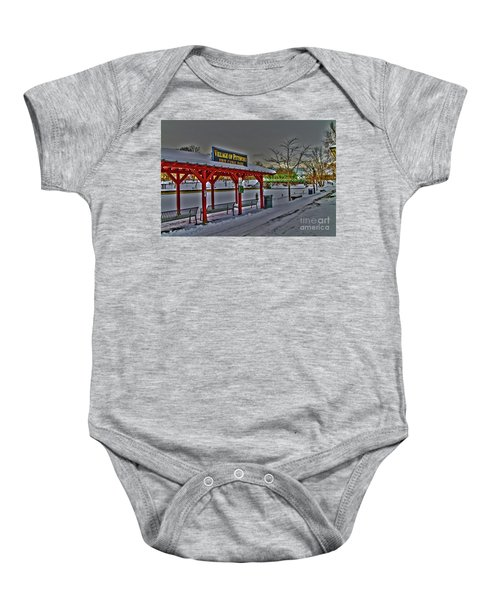 Pittsford Canal Park Baby Onesie