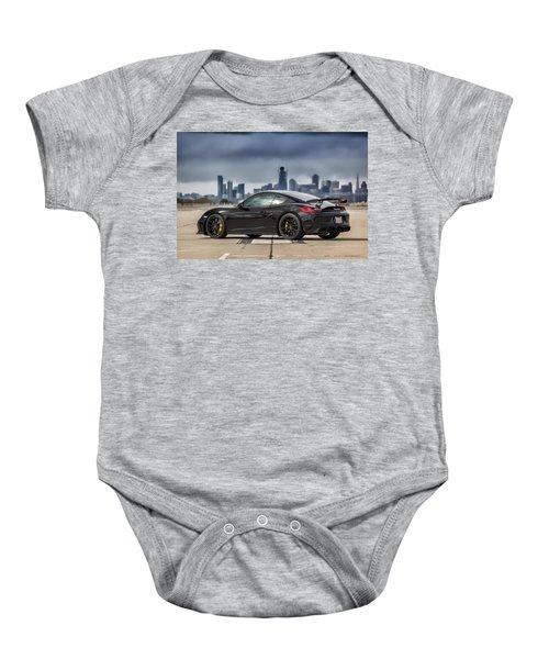 #porsche #cayman #gt4 Baby Onesie