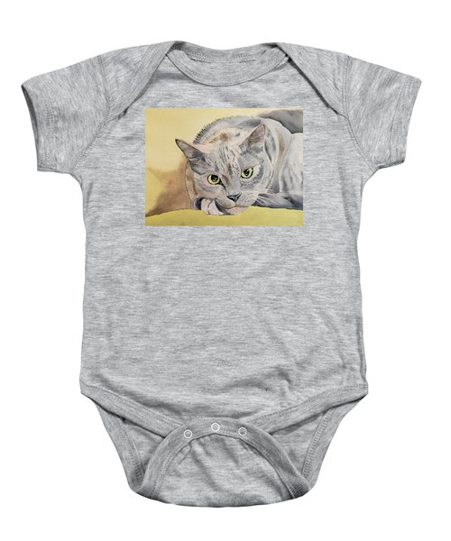 Puss Off Baby Onesie