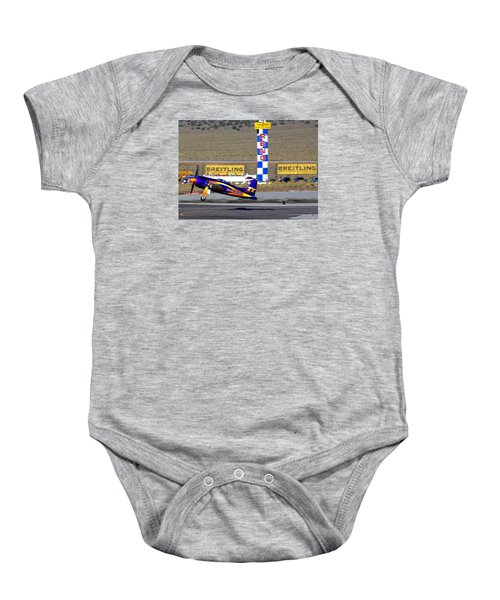 Rare Bear Take-off Sunday's Unlimited Gold Race Baby Onesie