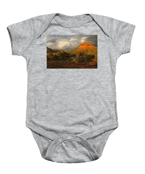 Red Rock Majesty Baby Onesie