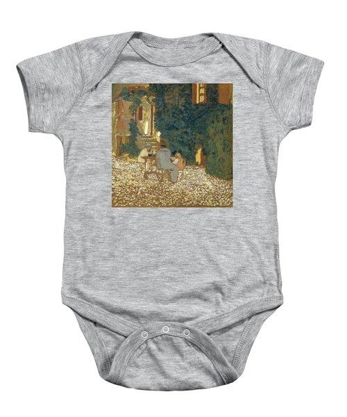 Repast In A Garden Baby Onesie