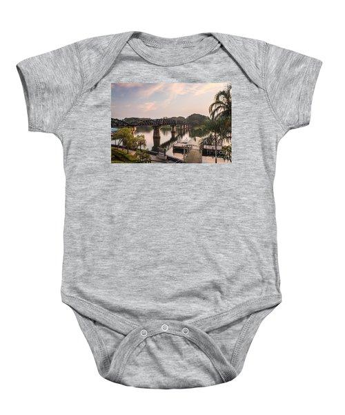 River Kwai Bridge Baby Onesie