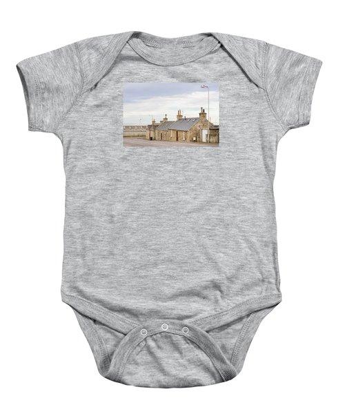Scottish Bungalows Baby Onesie