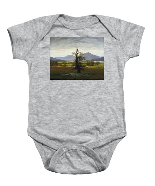 Solitary Tree Baby Onesie
