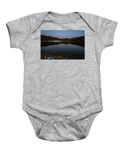 Sprague Lake Baby Onesie