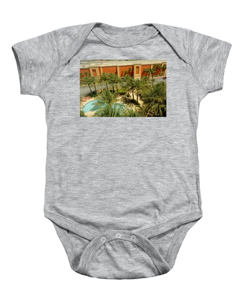 Staycation Upgrade Baby Onesie