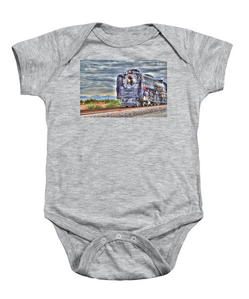 Steam Train No 844 Baby Onesie