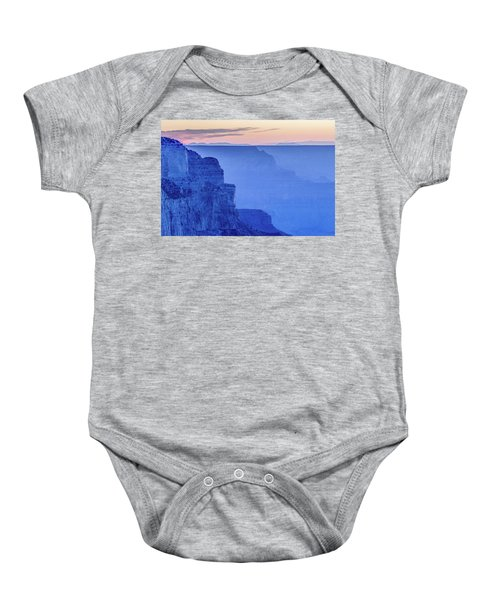 Sunset At South Rim Baby Onesie