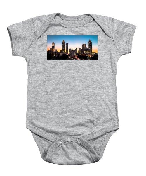 Sunset In Atlanta  Baby Onesie