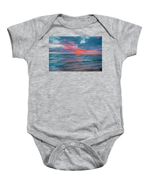 Superior Sunset Baby Onesie