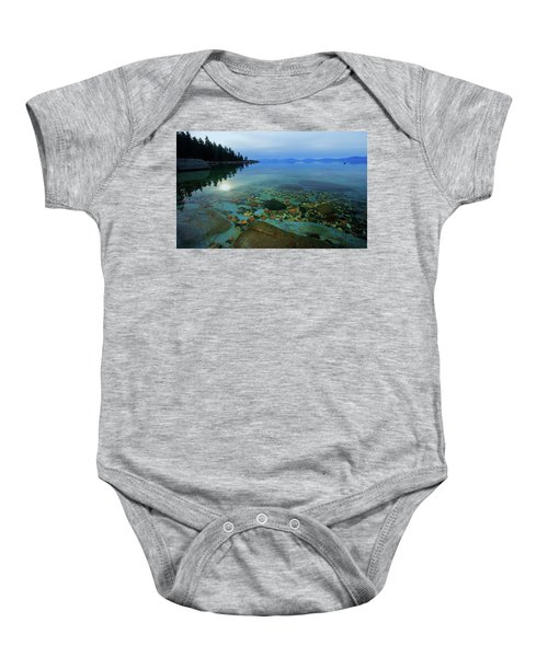 Tahoe Twilight Baby Onesie