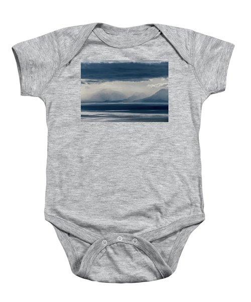 Tallac Stormclouds Baby Onesie