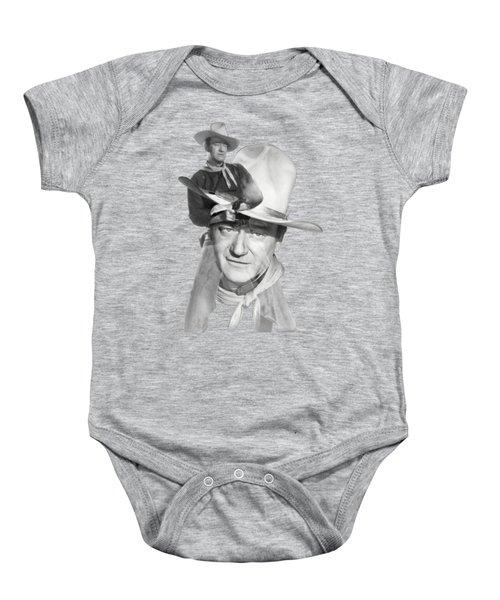The Duke John Wayne Baby Onesie by Diana Van