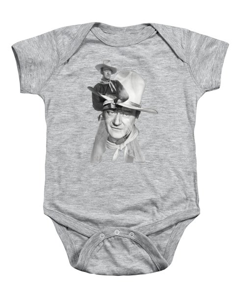 The Duke John Wayne Baby Onesie