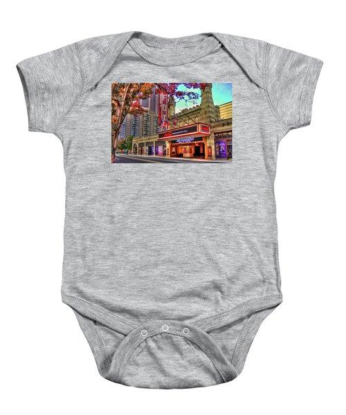 The Fabulous Fox Theatre Atlanta Georgia Art Baby Onesie