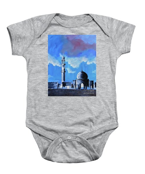 The Mosque Baby Onesie