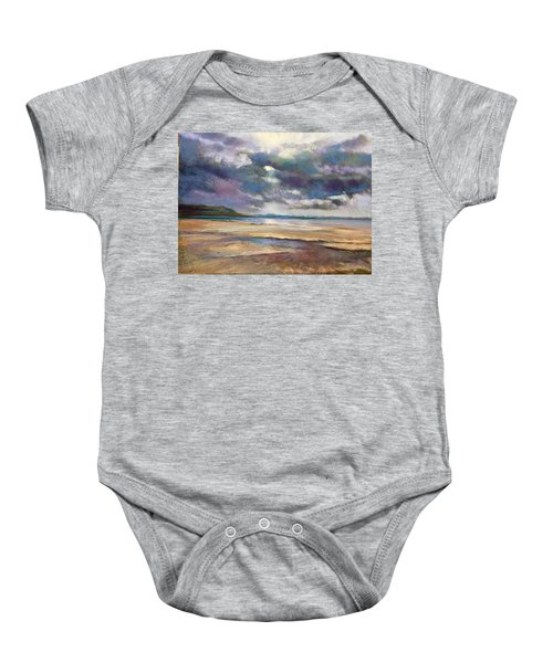 Tide's Retreat Baby Onesie