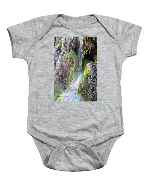 Tonto Waterfall Cave Baby Onesie