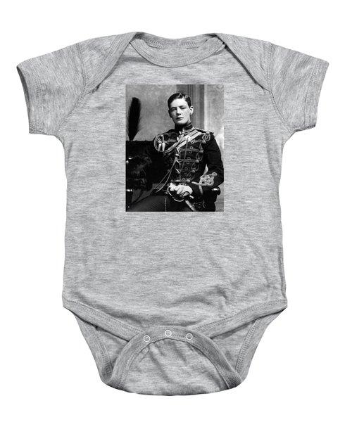 Winston Churchill  Baby Onesie