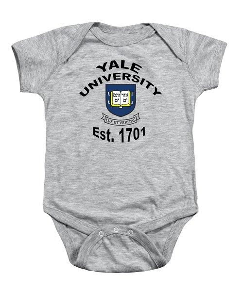 Yale University Est 1701 Baby Onesie