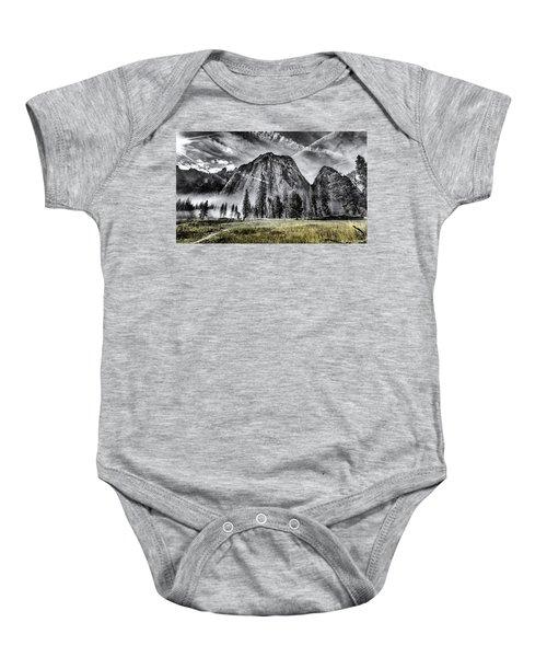 Yosemite Dawn Baby Onesie