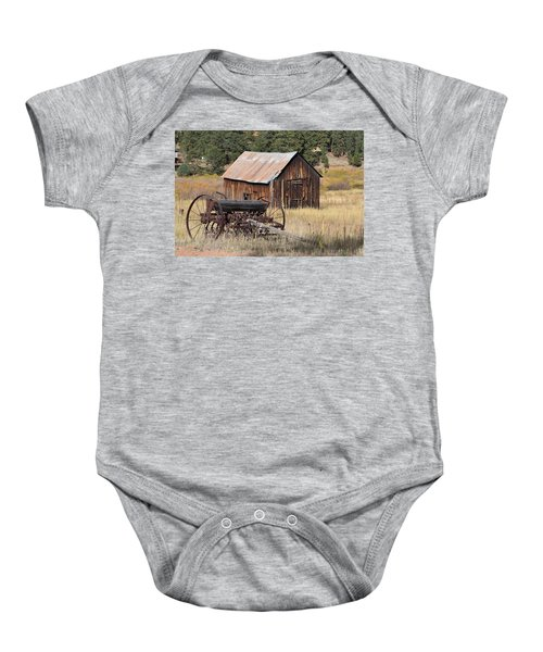 Seed Tiller - Barn Westcliffe Co Baby Onesie