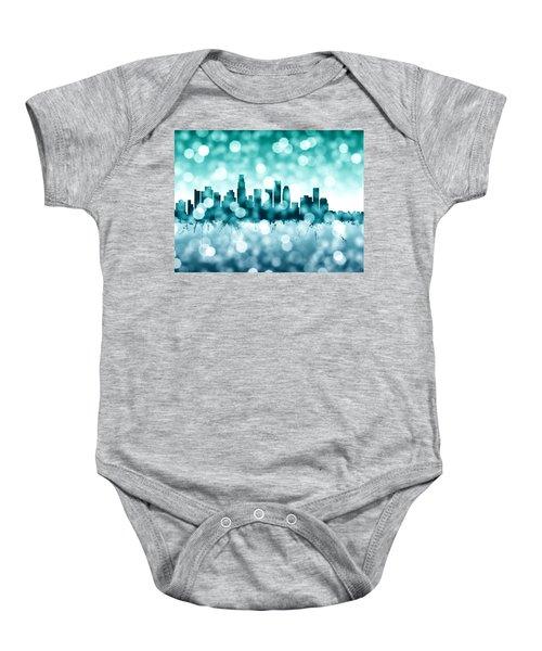 Los Angeles California Skyline Baby Onesie