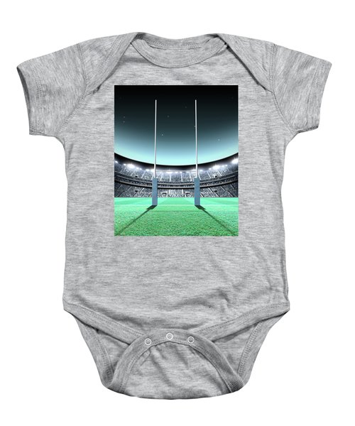 Floodlit Stadium Night Baby Onesie
