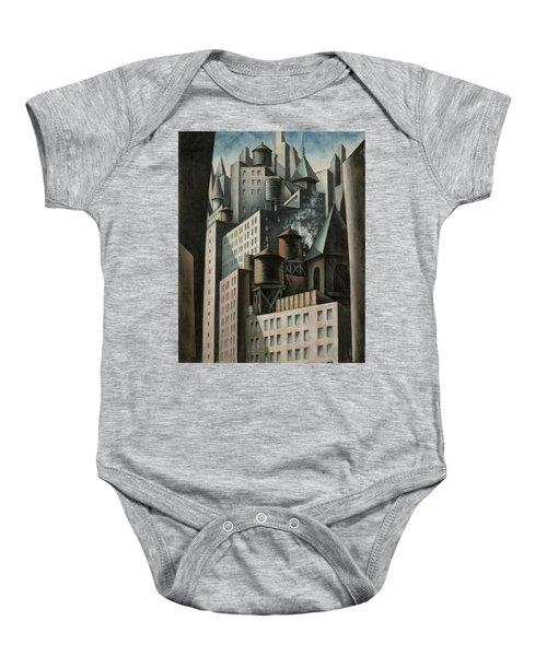14th Street New York City Baby Onesie