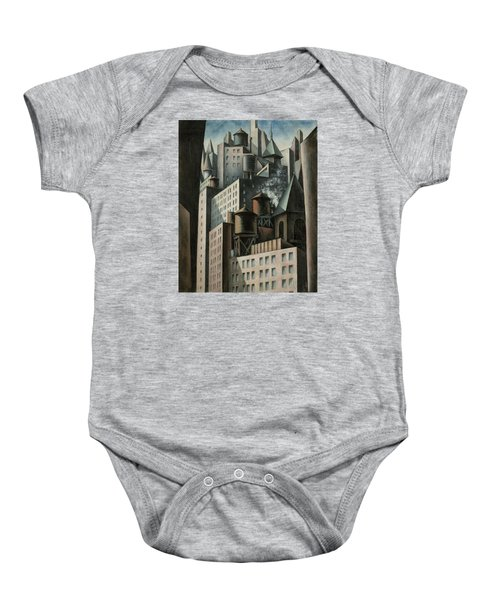 14th Street New York City Baby Onesie