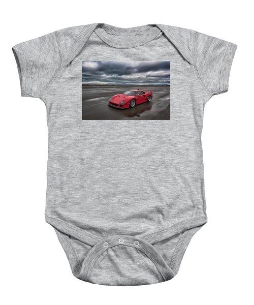 #ferrari #f40 #print Baby Onesie