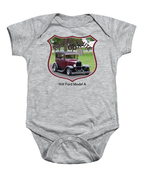 1931 Ford Model A Evensen Baby Onesie