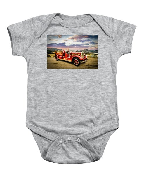1931 Mack Ready To Roll Baby Onesie