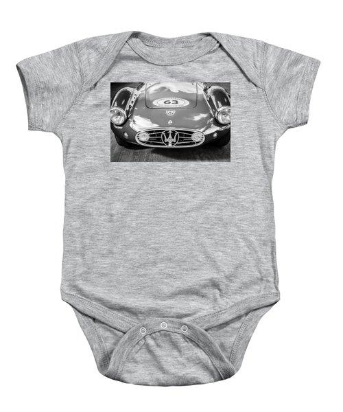 1954 Maserati A6 Gcs -0255bw Baby Onesie