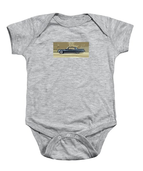 1961 Cadillac Fleetwood Sixty-special Baby Onesie