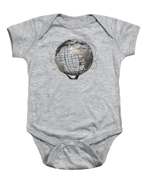 1964 World's Fair Unisphere Baby Onesie