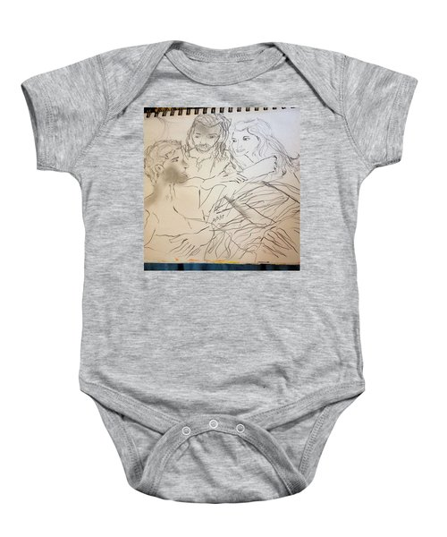 Adam Andeve The Creation Story Baby Onesie