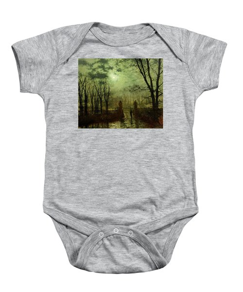 At The Park Gate Baby Onesie