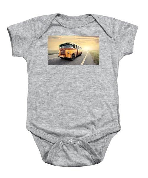 Bus Baby Onesie