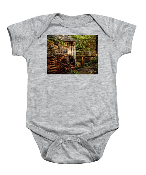 Cades Cove Mill Baby Onesie