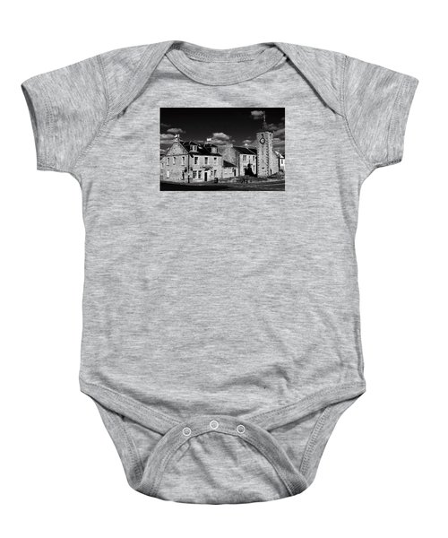 Clackmannan Baby Onesie by Jeremy Lavender Photography