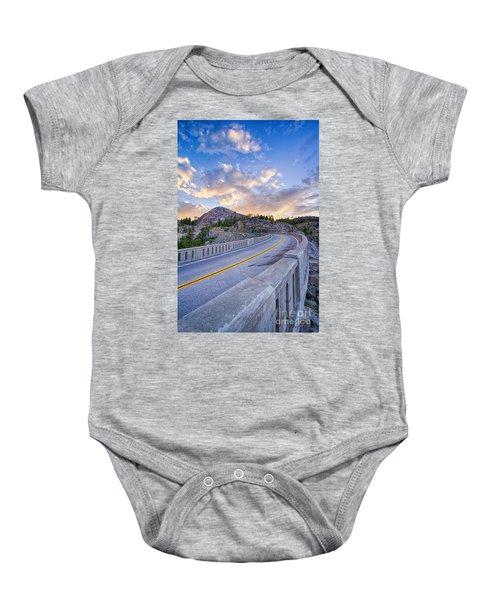 Donner Memorial Bridge Baby Onesie