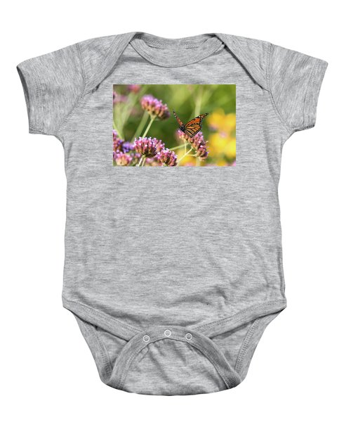 Flight Of The Monarch 1 Baby Onesie