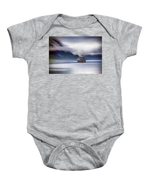 Glacier Bay Alaska Baby Onesie